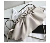 Cow Pouch Real Leather Envelope Bag Luxury Handbags Women Bags Designer Voluminous Rounded Shape Purses and Handbags Clutches - Creative Dreamscape