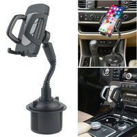 New Universal 360 Degree Adjustable Car Phone Mount Gooseneck Cup Holder Stand Cradle for Cell Phone IPhone GPS - Creative Dreamscape