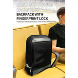 Smart Backpack Fingerprint Lock Anti-Theft Bag Luggage Keyless Door Locks USB Rechargeable Security Electronic Biometric Sensor - Creative Dreamscape