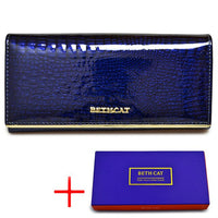 HH Alligator Womens Wallets Luxury Patent Fashion Genuine Leather Ladies Clutch Purse Hasp Long coin Multifunctional purses - Creative Dreamscape