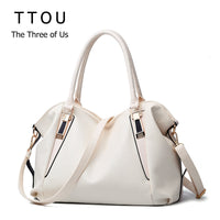 TTOU Designer Women Handbag Female PU Leather Bags Handbags Ladies Portable Shoulder Bag Office Ladies Hobos Bag Totes - Creative Dreamscape