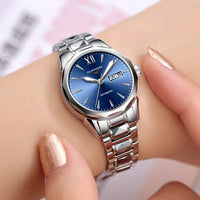 GUANQIN GJ16065 Automatic mechanical watches waterproof watch female fashion new diamond tungsten steel watches relogio feminino - Creative Dreamscape