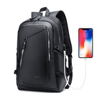 Smart Backpack Notebook PU Leather Fashion College Bagpack Student School for Girls Boys Unisex Bag Men's Women Laptop Male Mens - Creative Dreamscape