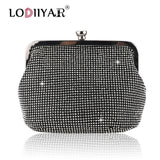 Women Diamonds Bag Rhinestone Shoulder Bags Ladies Purse Handbags Clutch Evening/Party/Wedding Bags Black Birthday Gift Women - Creative Dreamscape