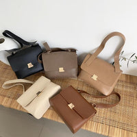 Casual Retro Women Shoulder Bags Designer Brand Chic Strap Female Handbags Luxury Pu Leather Crossbody Messenger Bag Large Purse - Creative Dreamscape