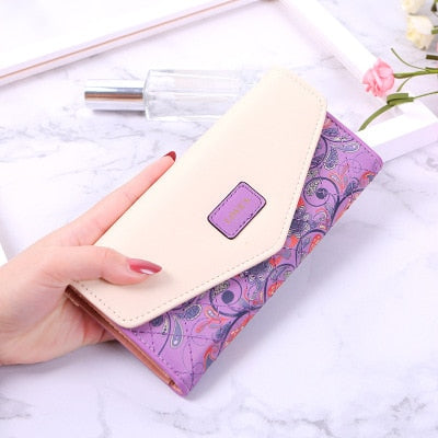 Wallet New Famous Brand Long Wallet Evening Clutch Female Bag Ladies Money Coin Purse Carteira Feminina Luxury Women Wallets - Creative Dreamscape