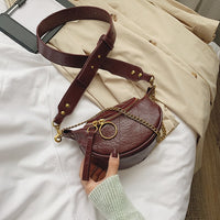 Fashion Quality PU Leather Crossbody Bags For Women 2020 Chain Small Shoulder Messenger Bag Lady Travel Handbags and Purses - Creative Dreamscape