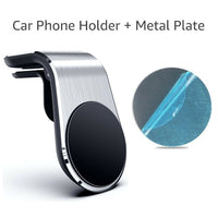 Untoom Magnetic Car Phone Holder 360 Rotation in-Car Air Vent Clip Cell Phone Mount Magnet Smartphones GPS Telefone Holder Stand - Creative Dreamscape