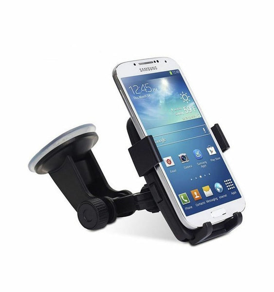 Rotatable Car Windscreen Suction Cup Window Mount Phone Holder Bracket Stand Unversial for Cell SmartPhones - Creative Dreamscape