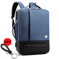 Anti Theft Business Backpack Men Anti-theft Smart Backpack Mochila Laptop Bagpack Antitheft Bag Shoulder Back Pack USB Charger - Creative Dreamscape