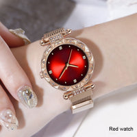 Brand watches Women watch bracelet casual fashion Starry sky dress watches Ladies quartz Wristwatches Gift clock Reloj Mujer - Creative Dreamscape