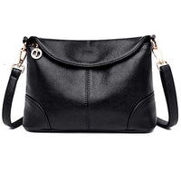 New Elegant Shoulder Bag for Women Leather Fashion Envelope Crossbody Bag With 2 Shoulder Straps Black Blue Purple Red - Creative Dreamscape