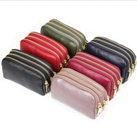 Genuine Leather Women Wallet Female small Clutch Lady Walet Portomonee Rfid Luxury Brand Money Bag Magic Zipper Coin Purse - Creative Dreamscape
