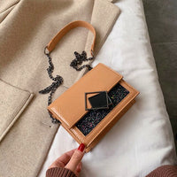 Solid Color PU Leather Saddle Bags For Women 2020 Small Lady Shoulder Messenger Bag Female Travel Handbags and Purses Feminina - Creative Dreamscape