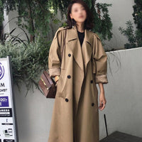 ZIAI 2020 hotsale women jacket spring long light trench coat warm lapel female windbreaker long sleeve lady casual stock ZS-7246 - Creative Dreamscape