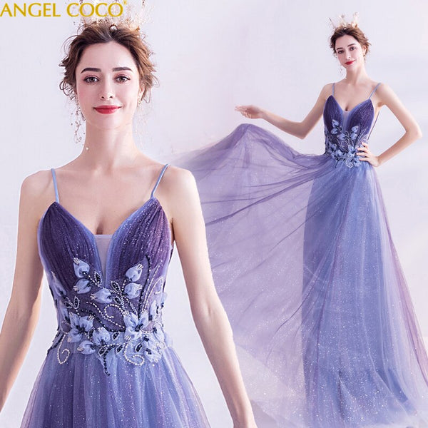 Fashion sexy Evening Gowns Dinner host annual show catwalk host Elegant Party Gown Prom Dresses 2020 Evening Dresses Long Jurken - Creative Dreamscape