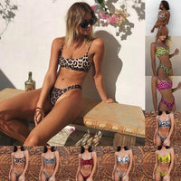 2020 Sexy Swimsuit Bikini Swimwear Women Suit Wear Padded Thong Bathing Suit Brazilian Swimming Suit Summer for Lady - Creative Dreamscape