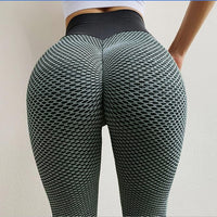 NORMOV Seamless Fitness Women Leggings Fashion Patchwork Print High Waist Elastic Push Up Ankle Length Polyester Leggings - Creative Dreamscape