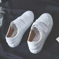 HOT Women Sneakers 2020 Fashion Breathble Vulcanized Shoes Women Pu leather Platform Shoes Women Lace up Casual Shoes White - Creative Dreamscape