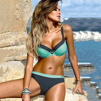 YCDYZ New Sexy Brazilian Bikini Push up Tanga Swimsuit Swimwear Women Biquinis Feminino Maillot De Bain Femme 2018 Swimming Suit - Creative Dreamscape