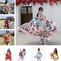 NEW 135x190cm Star with the same paragraph Cover-Ups Women Large Beach Dress Bikini Bathing Swimwear Cover Up Sarong Wrap Scarf - Creative Dreamscape