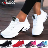 KAMUCC New Platform Ladies Sneakers Breathable Women Casual Shoes Woman Fashion Height Increasing Shoes Plus Size 35-42 - Creative Dreamscape