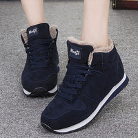 Women Boots Winter Shoes 2020 Plus Size 46 Ankle Boots For Women Shoes Snow Botas Mujer Casual Booties Warm Winter Sneakers - Creative Dreamscape