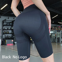 Women High Waist Energy Seamless Yoga Shorts Push Up Hip Gym Shorts Fitness Sports Leggings - Creative Dreamscape