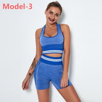Women Seamless Gym Sets High Waist Gym Mesh Leggings Shirts Suit Long Sleeve Fitness Workout Sports Running Thin Sport Sets - Creative Dreamscape