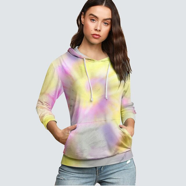 Autumn Casual Brief Soft T shirt Basic Fashion Classic Colorful Women Hoodies HMY004 - Creative Dreamscape
