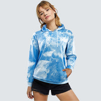 Autumn Casual Brief Soft Sweatershirt Basic Fashion Classic Tie Dye Women Hoodies HMY006 - Creative Dreamscape