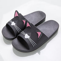 Cute Cat Designer Women Slippers - Creative Dreamscape