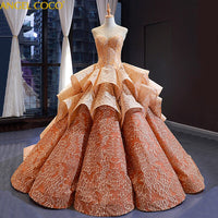 Saudi Arabia Evening Dresses Long Prom Dresses 2020 Fashion Elegant Evening Gowns Champagne Gold Tube Top Robe De Soiree Jurken - Creative Dreamscape