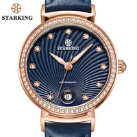 STARKING Latest Fashion Lady Watch For Woman 2017 Auto Date Luxury Mechanical Watch Women Retro Vintage WristWatch Classic Clock - Creative Dreamscape