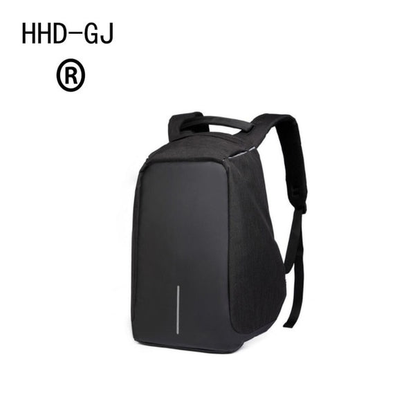 HHD-DJ Smart Urban Anti Theft Backpack Best Anti-Theft Usb Charging Travel Backpack Hidden Zipper Waterproof Laptop Bag - Creative Dreamscape