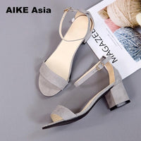 Hot Summer Women Shoes Pumps Dress Shoes High Heels Boat Shoes Wedding Shoes Tenis Feminino With Peep Toe Sandals Casual 997 - Creative Dreamscape