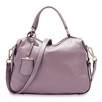 Zency Fashion Women Tote Bag 100% Genuine Leather Handbags Female Boston Charm Messenger Crossbody Purse Luxury Shoulder Bags - Creative Dreamscape