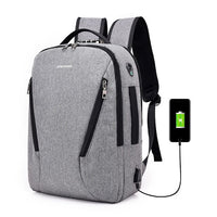 Anti-theft Backpack Smart Charging Usb College Student Computer Bag Men's Outdoor Sports Camping Hiking Trave Hunting Bags - Creative Dreamscape