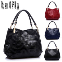 Famous Designer Brand Bags Women Leather Handbags 2018 Luxury Ladies Hand Bags Purse Fashion Shoulder Bags Bolsa Sac Crocodile - Creative Dreamscape