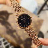 Super Women Watches Fashion Ladies Rose Gold Dress Watch Woman Causal Watch Clock Women Starry Face Watches relojes para mujer - Creative Dreamscape