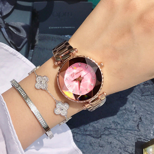 2019 Fashion Women Crystal Watches Ladies Casual Dress Watch Woman 2018 Quartz Watch Female Rhinestone Watches Clock Women Gifts - Creative Dreamscape