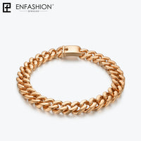 Enfashion Big Strong Link Chain Chokers Necklace Women Gold Color Stainless Steel Statement Necklaces Ketting Men Jewelry PM3014 - Creative Dreamscape
