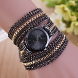 Hot Selling Bracelet Watches Women Fashion Alloy Chain Gold Ladies Casual Quartz Watch Relogio Feminino Ceasuri dames horloges - Creative Dreamscape