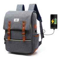 ZHIERNA USB Smart Backpack Men Shoulder Bag Female School Student Bag Male Large Capacity Women Travel Bag Girl Computer Bag - Creative Dreamscape