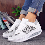VTOTA Women Casual Shoes Platform White Sneakers Designer Shoes Wedge Sneakers Casual Shoes Women Basket Femme Sneakers Women - Creative Dreamscape