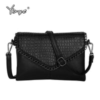 High quality alligator chains handbags fashion women envelope clutch ladies party famous brand shoulder messenger crossbody bags - Creative Dreamscape