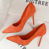 Women Pumps Fashion 9cm High Heels For Women Shoes Casual Pointed Toe Women Heels Chaussures Femme Stiletto Ladies 516-1 - Creative Dreamscape