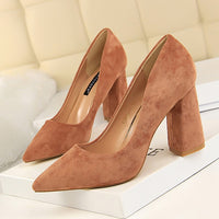 Bigtree Shoes 2019 New Women Pumps Fashion Women High Heels Shoes Spring FWedding Shoes Women Kitten Heels Bridal Shoes - Creative Dreamscape