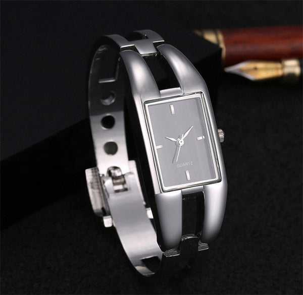 2019 Luxury Women Watch Bracelet Quartz Watches Hollow Slim Band Womens Bangle Watches relogio feminino Beauty Designer Clock - Creative Dreamscape