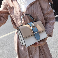 Women's Designer Handbag 2019 Fashion New High quality PU Leather Women bag Contrast Lady Tote Shoulder Messenger Bag Crossbody - Creative Dreamscape